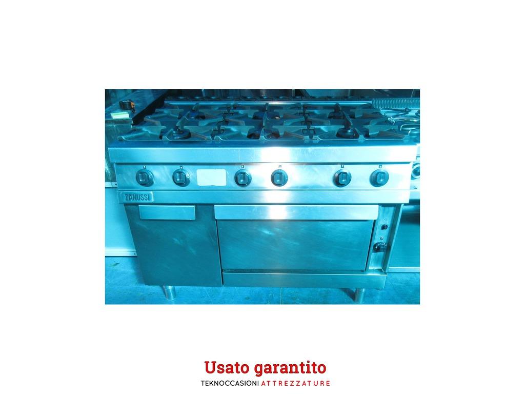 Cucina A Gas Sei Fuochi Con Forno Za Palermo Sicilia Annunci Industriali